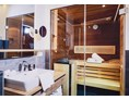 Mountainbikehotel: Bathroom with Sauna - Stockinggut by AvenidA | Hotel & Residences