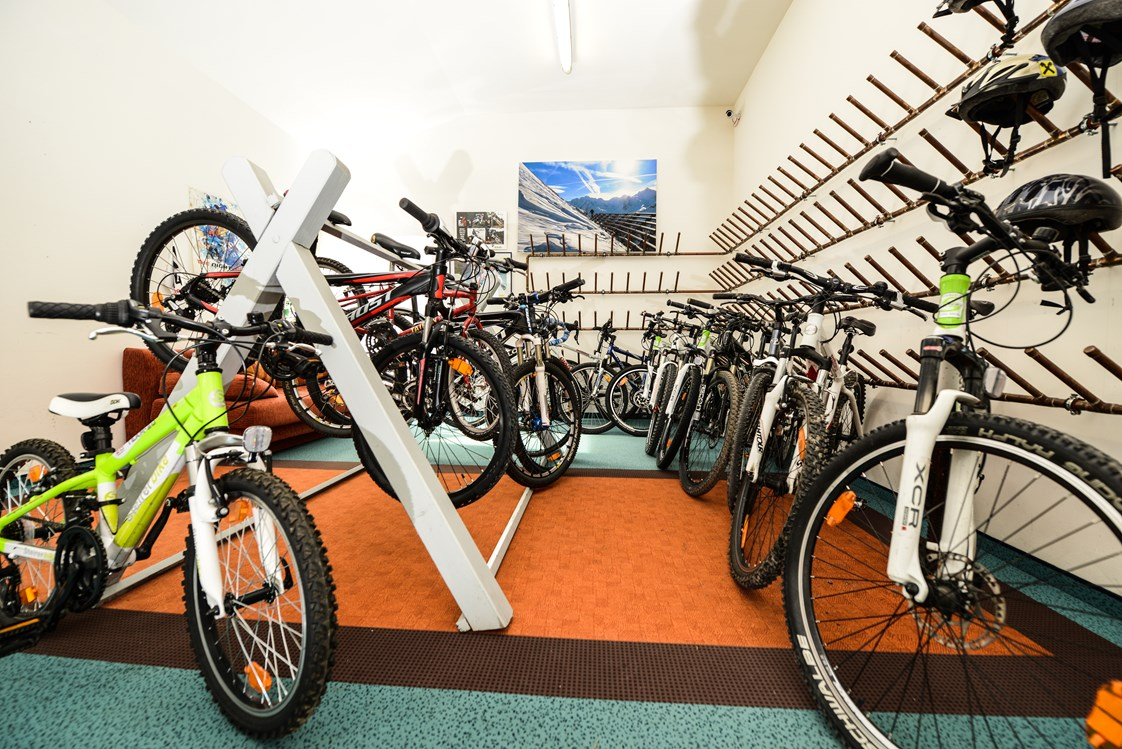 Mountainbikehotel: Mountainbike-Garage - Hotel Hartweger