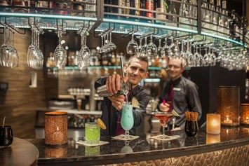 Mountainbikehotel: Bidie Bar mit coolen Drinks - Land & Golf Hotel Stromberg