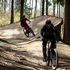 Mountainbikehotel: Flowtrail - Land & Golf Hotel Stromberg