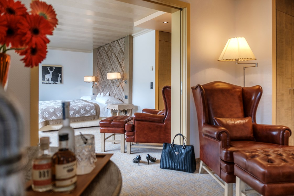 Mountainbikehotel: Junior Suite - Tschuggen Grand Hotel