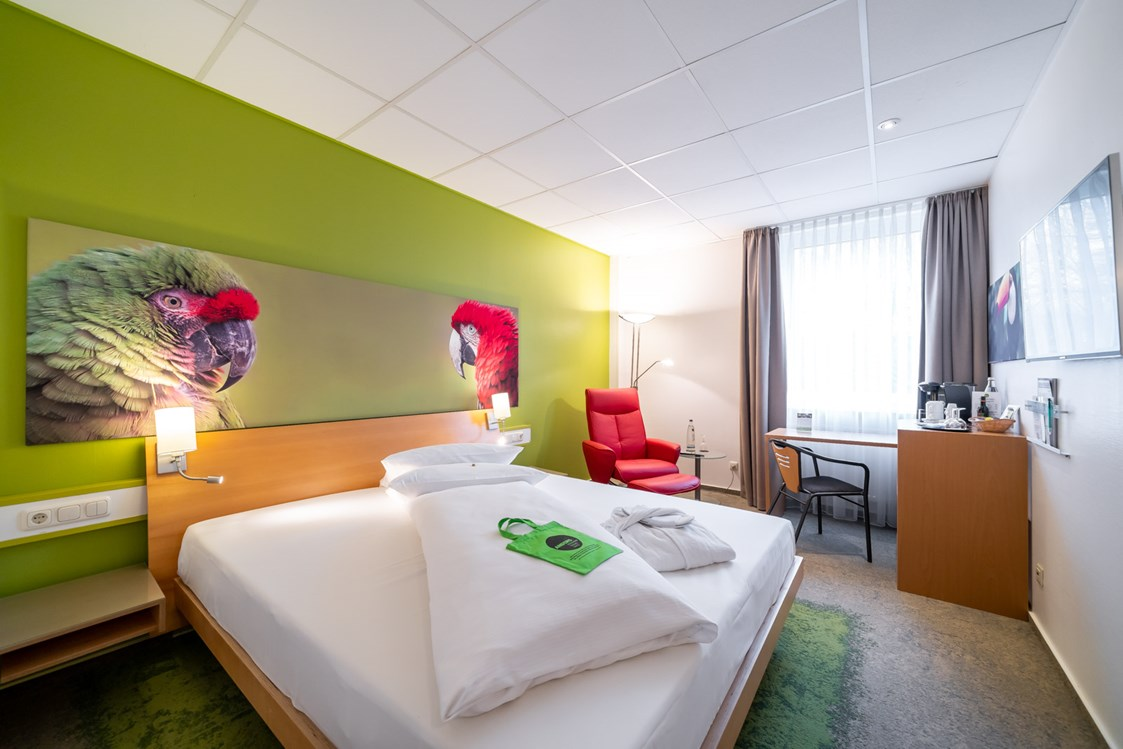 Mountainbikehotel: Das ANDERS Superior+ Zimmer  - ANDERS Hotel Walsrode