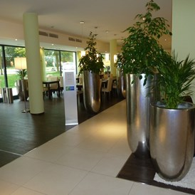 Mountainbikehotel: Lobby - Holiday Inn Express Neunkirchen