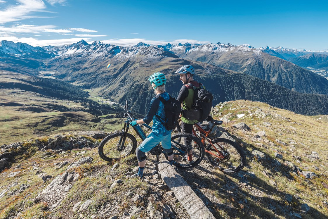 Mountainbikehotel: © Destination Davos Klosters/Martin Bissig - AMERON Davos Swiss Mountain Resort