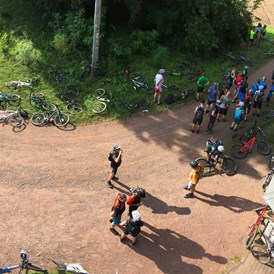 Mountainbikehotel: Ride-for-help-Day Püttlingen - Hotel Maurer