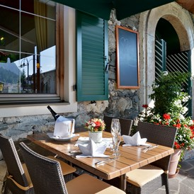Mountainbikehotel: Terrasse - Gasthof-Hotel Post