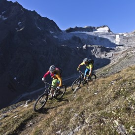 Mountainbikehotel: Rettenbach Trail - The Peak Sölden