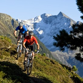 Mountainbikehotel: Lochle Alm Trail - The Peak Sölden