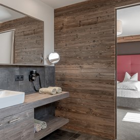 Mountainbikehotel: Badezimmer - The Peak Sölden