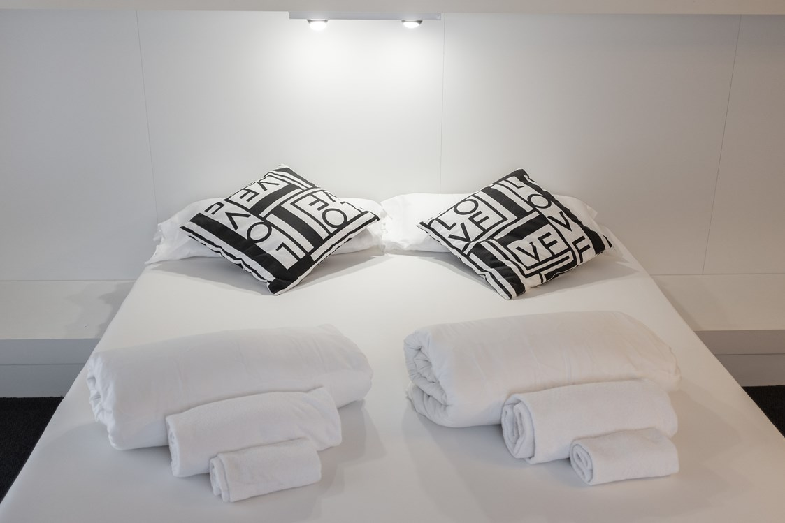 Mountainbikehotel: King Bett - White Room - Hotel Santoni Freelosophy