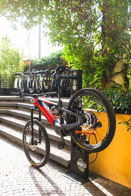 Mountainbikehotel: Bike service  - Hotel Santoni Freelosophy