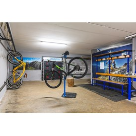 Mountainbikehotel: Bike Depot - Hotel Santoni Freelosophy