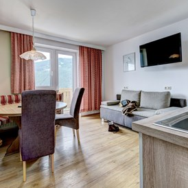 Mountainbikehotel: Die Küche in unserem Panorama Apartment - Berghotel Jaga-Alm