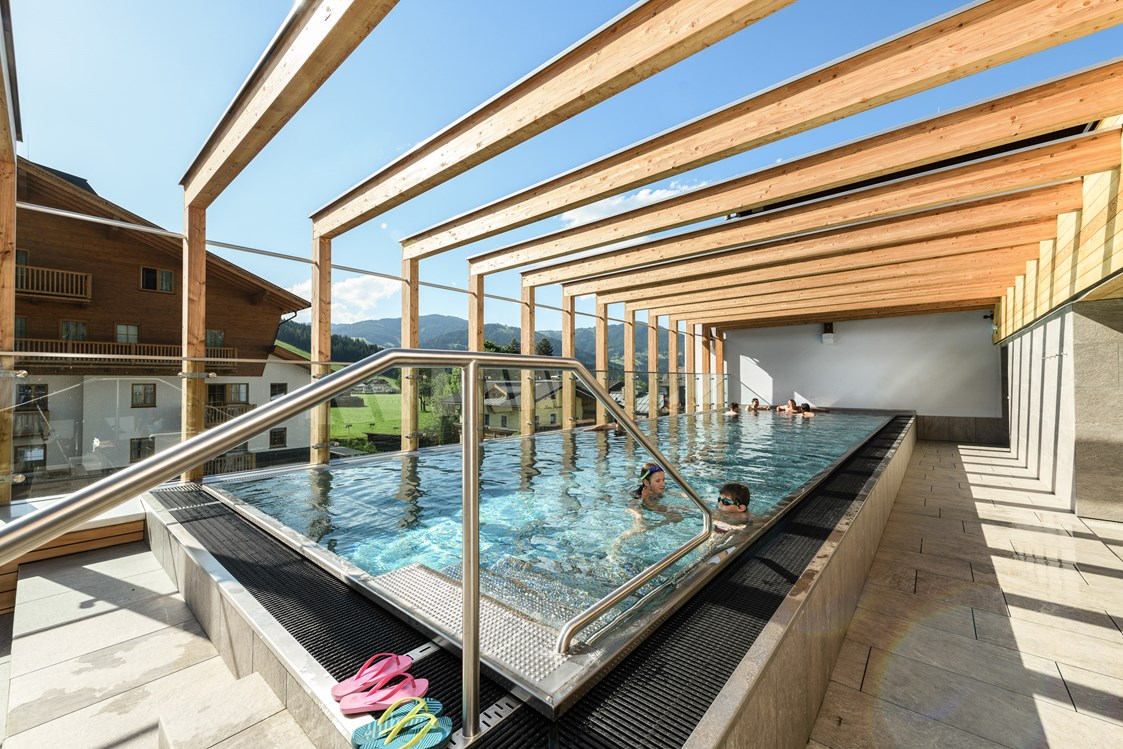 Mountainbikehotel: Rooftop Pool - Funsport- & Bikehotel TAUERNHOF
